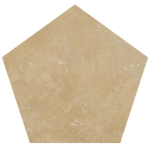 Cross cuttravertine
